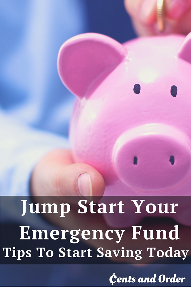 No amount is too small to start your emergency fund. Start saving today with these tips to cut expenses and start saving money.