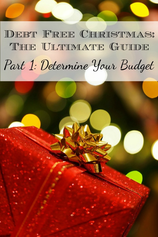 A Debt Free Christmas: Determine your Christmas budget. | Cents and Order