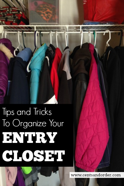 How to organize a small entry closet for How do you organize your closet