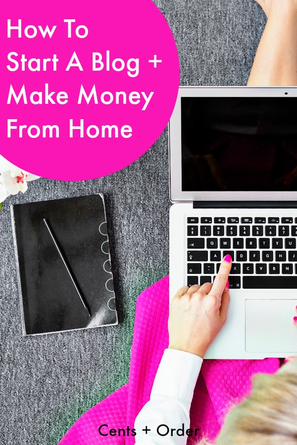 How to start a blog to make money from home for How to build a blog