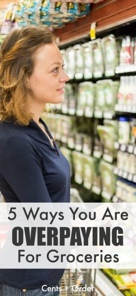 Are you being tricked into spending more on food? Five ways you think you are saving money-but are actually overpaying for groceries! Cut your grocery bill by watching for these pricing tricks at your store.