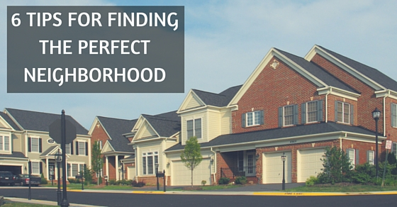 Home buying find the perfect neighborhood for Find the perfect house