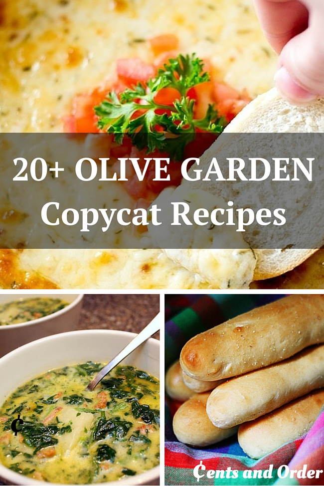 20 Olive Garden Copycat Recipes