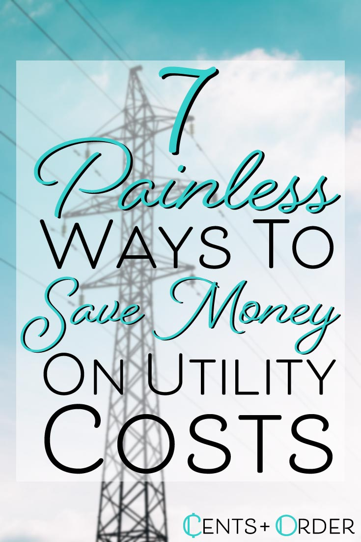 Save some money and the environment at the same time!