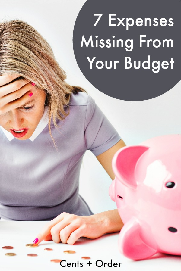 Now you can finally stick to your budget! Despite having a detailed budget, these missing expenses can wreck your budget. When you include these commonly forgotten expenses, you can get your finances under control.