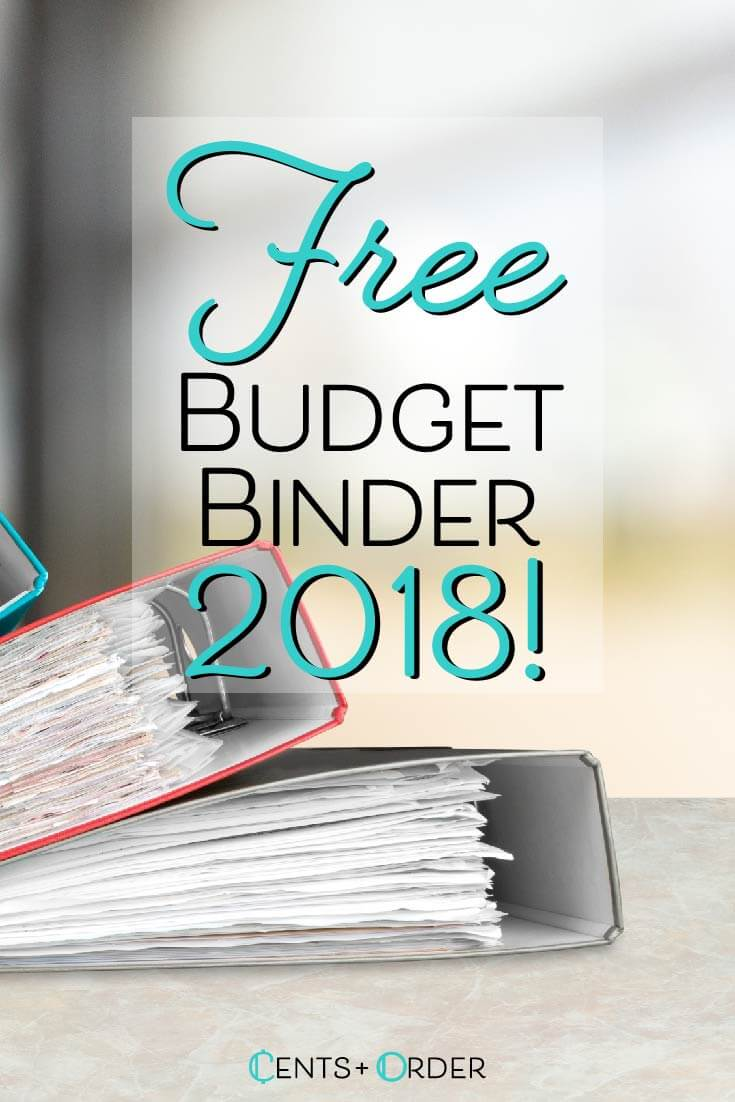 budget binder printable how to organize your finances