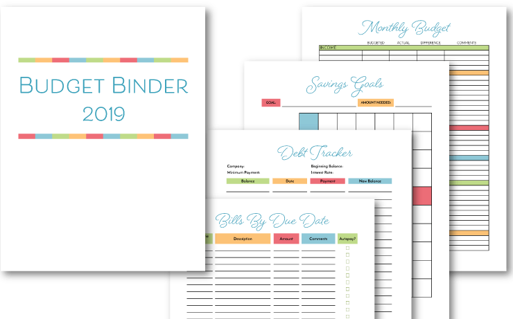picture regarding Free Binder Printables referred to as Spending budget Binder Printable: How Towards Set up Your Funds