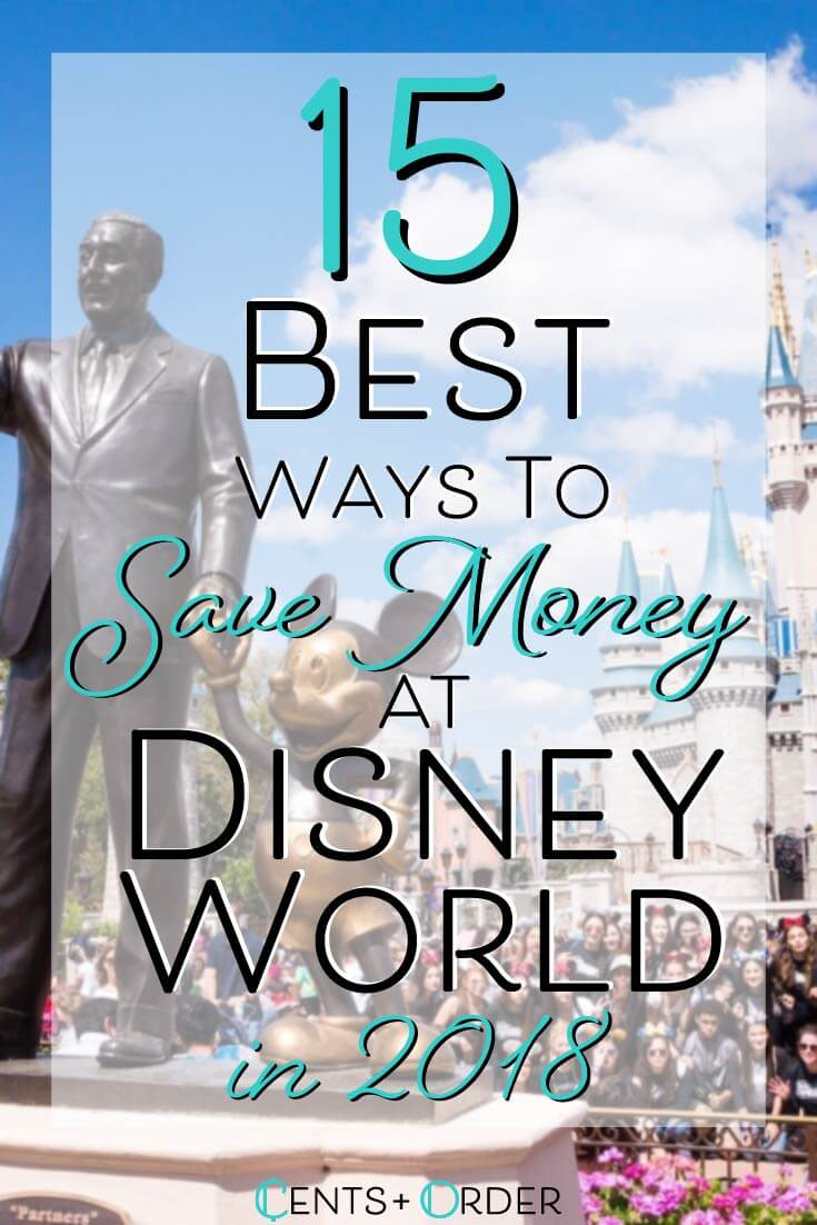 Disney is always a lot of fun, but a lot of money! These are some great ways to save on your vacation!