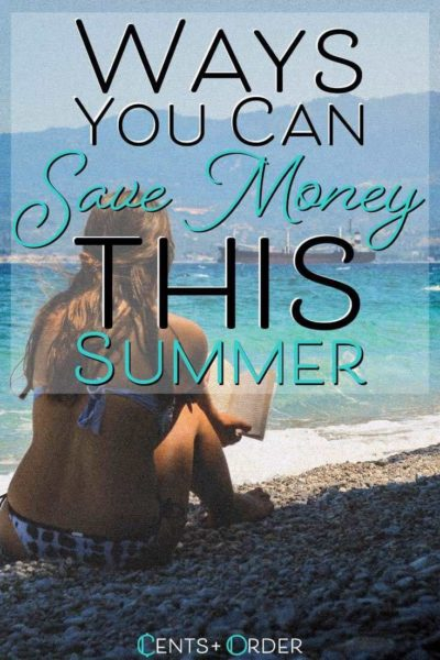 Save money in the summer pinterest