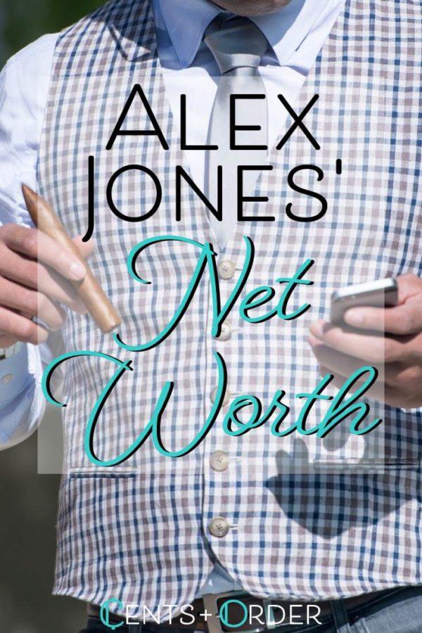 Alex Jones net-worth pinterest