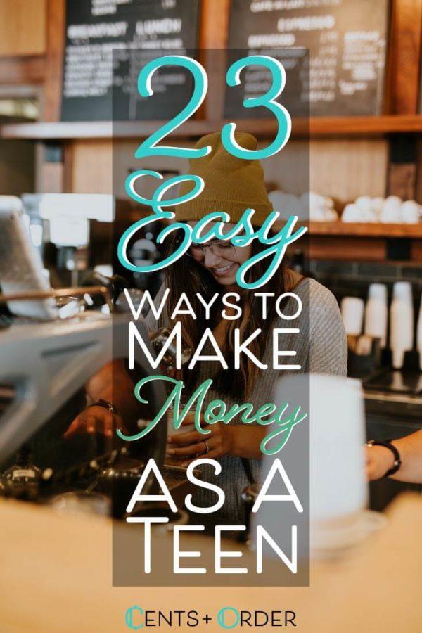 Make money as a Teen