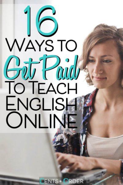 Teaching english online pinterest