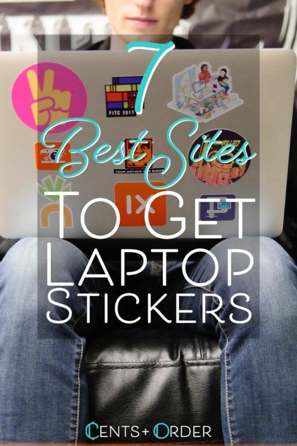Laptop stickers pinterest