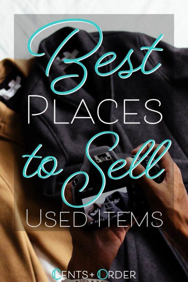Sell Used Items Pinterest