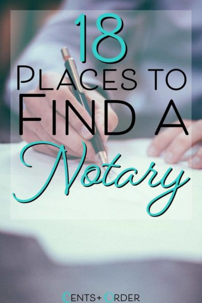 18 Places to Find a Notary Near You (Some Open Late)