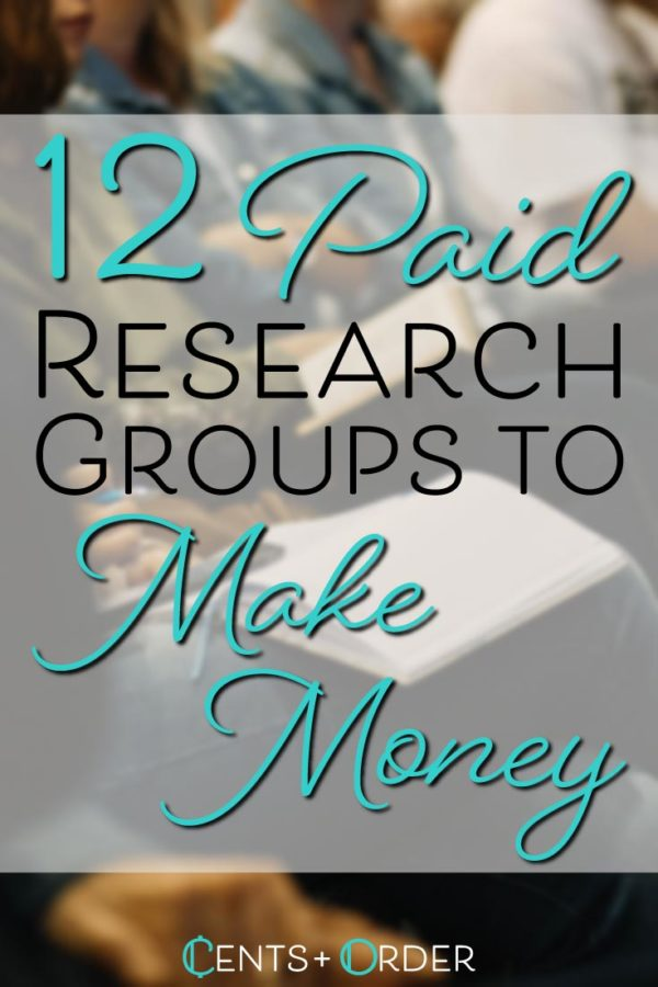 Paid research group Pinterest Pin