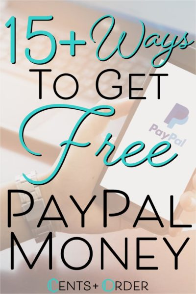 Ways to get free Paypal Money pinterest pin